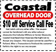 garage door service - discount