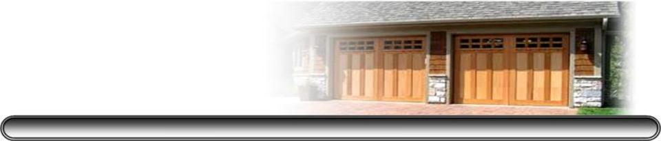 We Repair All Makes And Models Of Garage Doors And Garage Door Openers.  State Certified , Licensed , And Insured. Registered And Licensed With City  Of ...